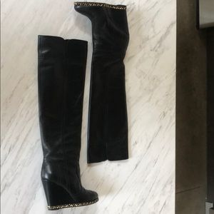 314d71e47af Women s Chanel Wedge Boots on Poshmark